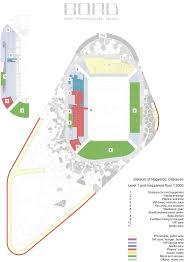 stadium floor plan gallery of nagyerdo football stadium bord 49