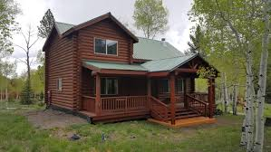 log cabin house full log cabin at panguitch lake for sale southern utah mountain