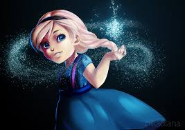 frozen little elsa by pikadiana on deviantart