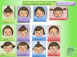 girl hairstyles animal crossing new leaf here made hair guide for boy characters hairstyles ideas