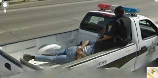 Google Maps Tijuana Google Street View Captures An Arrested Mexican Riding In The Back