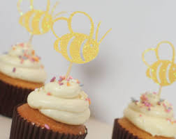 bumble bee cake topper bee cupcake topper etsy