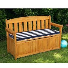 wood bench with storage outdoor bench storage simple wood storage
