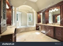 interior home columns master bath luxury home white tub stock photo 45681862 shutterstock