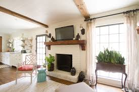 kitchen mantel ideas fireplace mantel ideas family room traditional with beams brick