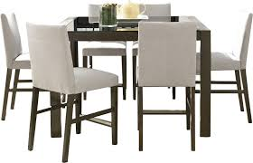 high dining room table and chairs dining room high dining room sets square counter height dining