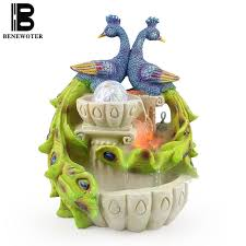 Home Decor Fountain Peacock Water Fountain Promotion Shop For Promotional Peacock