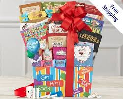 get well soon gift basket get well gift baskets at wine country gift baskets