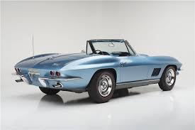 corvette auctions 1967 chevrolet corvette 427 convertible barrett jackson auction