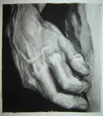 michelangelo u0027s statue of david charcoal hand study by hglucky13 on