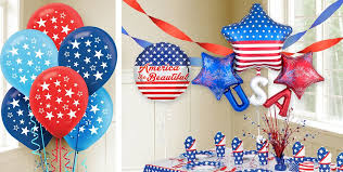 fourth of july decorations 4th of july decorations decor party city