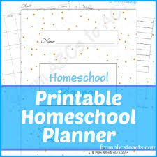 free home school free homeschool planner from abcs to acts