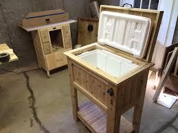 cedar cooler box by edscustomwoodcrafts lumberjocks com