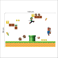 online shop super mario game wall stickers for kids room home
