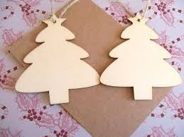 christmas tree wood blanks paint your own decorations wood