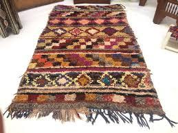 Moroccan Rug Runner Beni Vintage Boucherouite Rug Moroccan Rugs Rag Rug Tapestry And