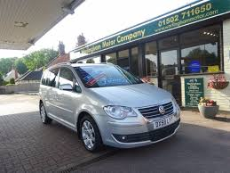 used volkswagen touran manual for sale motors co uk