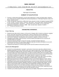 resume summary of qualifications for cmaa nabil resume civil construction 1 3 2