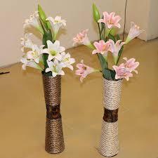 Floor Vase Flowers Classical Rattan Wrought Iron Floor Large Living Room Floor Vase