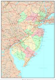 Political Maps New Jersey Political Map