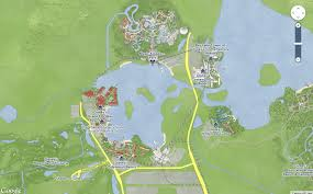 Disney World Hotel Map How To Tour Disney World Resorts Even If You U0027re Not Staying There