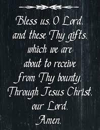 saying grace 4 chalkboard mealtime prayer printables