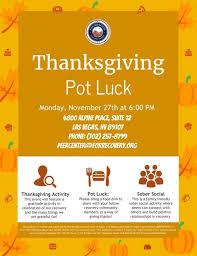 social event thanksgiving potluck at ffr foundation for