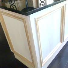 adding trim to cabinets adding trim to flat cabinet doors kitchen skirt molding under