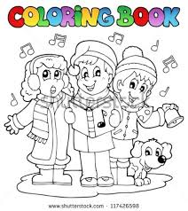 christmas coloring book stock images royalty free images