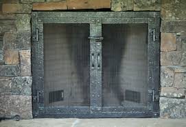 ideas fireplace doors 14591