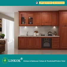 Kitchen Cabinets With Price by 2017 Linkok Furniture China Factory Price Merostn Wholesale