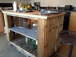 pallet kitchen island kitchen island self made from pallets 31 model suggestions hum