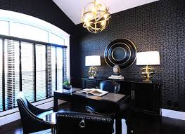 Black Home Office Furniture The Impression Of Luxury Home Office Furniture Home Decorating