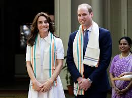 william and kate prince william wife kate pay respect to gandhi in india kate