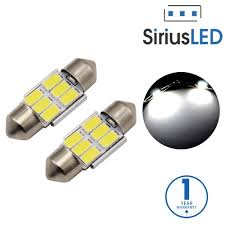 Led Light Bulbs For Car Interior by Amazon Com Siriusled Super Bright 5730 Chipset 6 Smd Led Bulbs