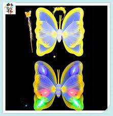 light up fairy wings cheap kids party princess led light up fairy wings hpc 2944