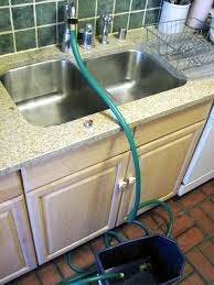 Garden Hose Hanger With Faucet Attach A Garden Hose To A Kitchen Faucet Garden Hose Kitchen