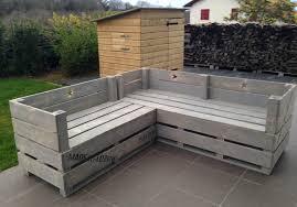 canapé en bois de palette meubles en palette de bois 25 id es cr atives canape exterieur