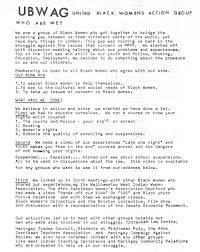 sample communications resume martha osamor unsung hero of britain s black struggle institute united black women s action group flyer credit irr black history collection