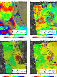 Italy Earthquake Map by The Italy 18 January 2017 Earthquakes Captured By The Sentinel 1