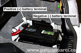 bmw e46 battery replacement and connection notes bmw 325i 2001