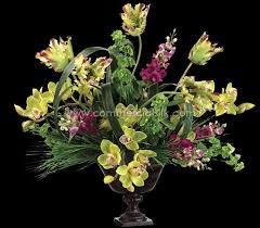 orchid flower arrangements artificial tulip flowers silk orchid flower faux bell flower