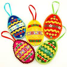 egg ornament center felt ornament pisanki egg