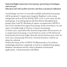 Chemical Engineering Internship Resume Samples by International Symposium From Waste Heat To Process Heat Program