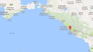Europe Google Maps by Debris From Crashed Russian Plane Found In Black Sea Itv News