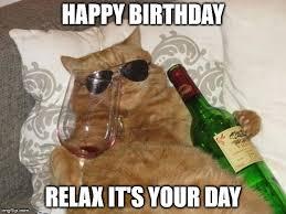 Cat Happy Birthday Meme - funny cat happy birthday memes trolls cat birthday funny pictures