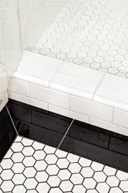 Bathroom Tile Black And White - best 25 white tiles black grout ideas on pinterest black grout