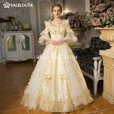 aliexpress com buy best seller champagne rococo baroque marie