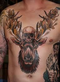 tattoo art u2013 the deer and the stag my styles