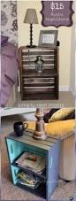 Rustic Wood Furniture Diy Best 25 Wood Crate Furniture Ideas On Pinterest Apartment